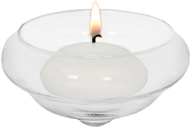 EDZARD Teelichthalter Iris H 4 cm, Durchmesser 80 mm