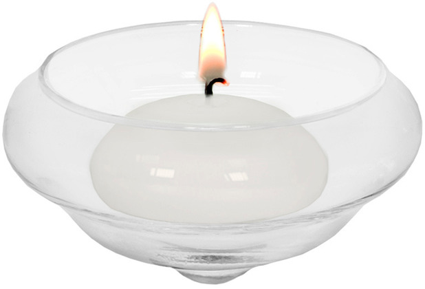 EDZARD Teelichthalter Iris H 4 cm
