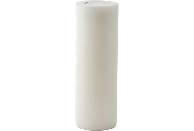 EDZARD Teelichthalter / Kerzenattrappe Cornelius Ø 10 cm / Höhe 30 cm