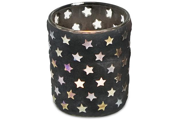 EDZARD Teelichtleuchter Sterne H 8 cm