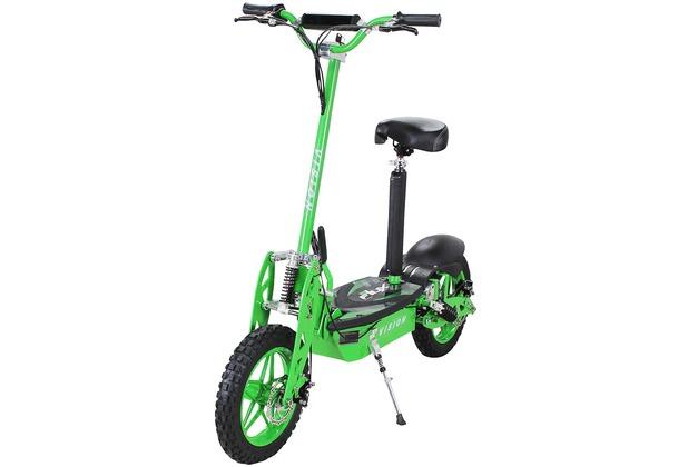 eFlux Vision 1000 Watt 36 Volt grün bis zu 30 km/h, mit Scheibenbremsen