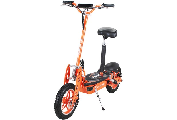 eFlux Vision 1000 Watt 36 Volt orange bis zu 30 km/h, mit Scheibenbremsen
