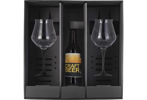 Eisch Craft Beer Experts Craft Beer Kelch 203/13 BLACK,2 Stück i.GK Cuvée