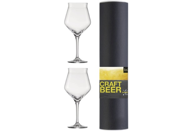 Eisch Craft Beer Experts Craft Beer Kelch 203/2, 2 Stück in Geschenkröhre