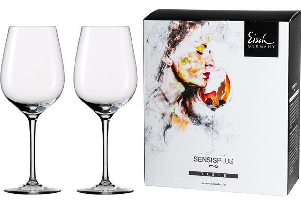 Eisch Superior Sensis plus Rotwein 500/2 - 2 Stück im 4 farb. Geschenkkarton