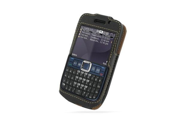 Eixo BiColor Ledertasche Business für Nokia E63