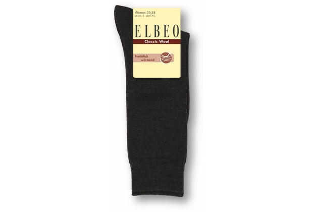 ELBEO Kniestrumpf Wool Damen nachtblau 39-42