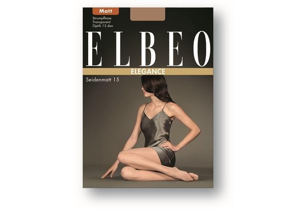 ELBEO Strumpfhose 15 Seidenmatt gobi 38-40