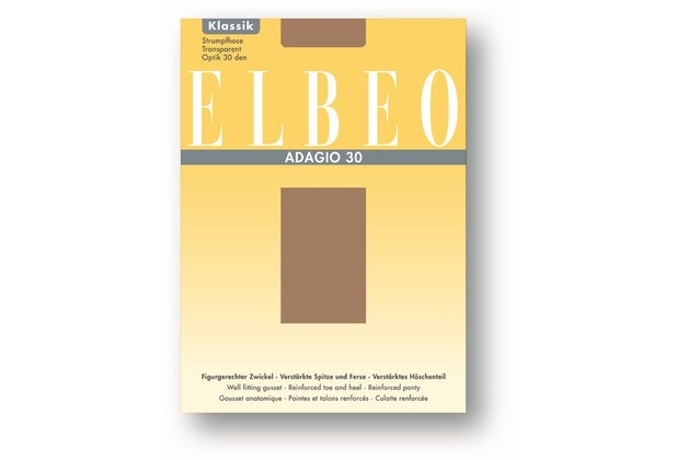 ELBEO Strumpfhose 30 Adagio diamant 38-40