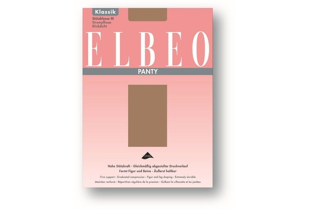 ELBEO Strumpfhose Panty granit 38-40