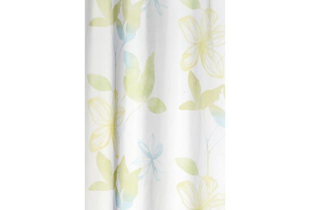 Elbersdrucke Fertigdeko Flower Poetry 03 grün 140 x 255 cm