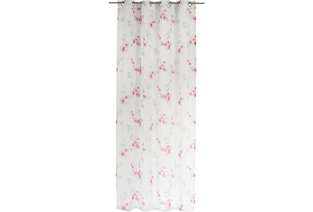 Elbersdrucke Gardine Kyoto pink - bunt