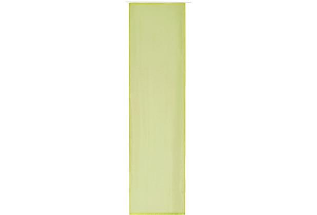 Elbersdrucke Flächenvorhang Basic 13 grün 60 x 245 cm ohne Paneelwagen