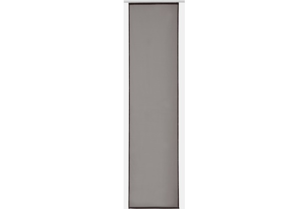 Elbersdrucke Flächenvorhang Basic 16 dunkelbraun 60 x 245 cm ohne Paneelwagen
