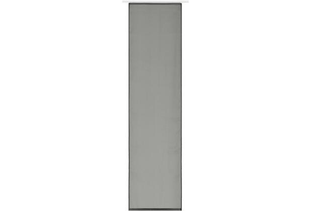 Elbersdrucke Flächenvorhang Feel Good Uni 09 beige 60 x 245 cm