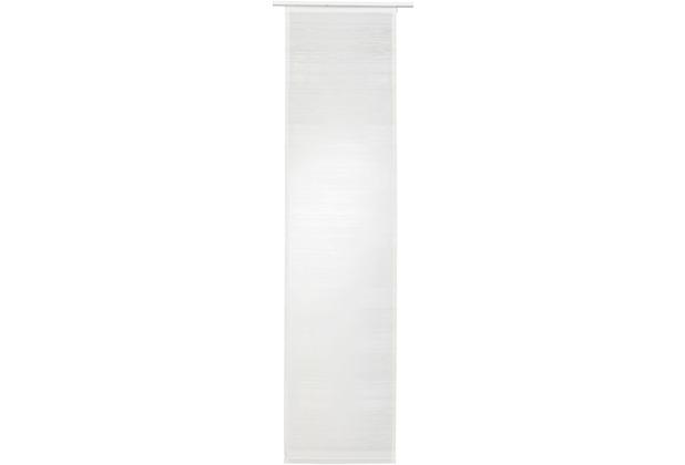 Elbersdrucke Flächenvorhang Filou 00 oT weiß 60 x 245 cm