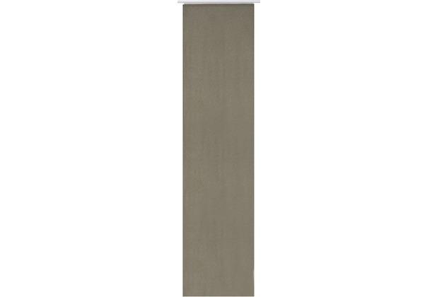 Elbersdrucke Flächenvorhang Lino 06 braun 60 x 245 cm ohne Paneelwagen