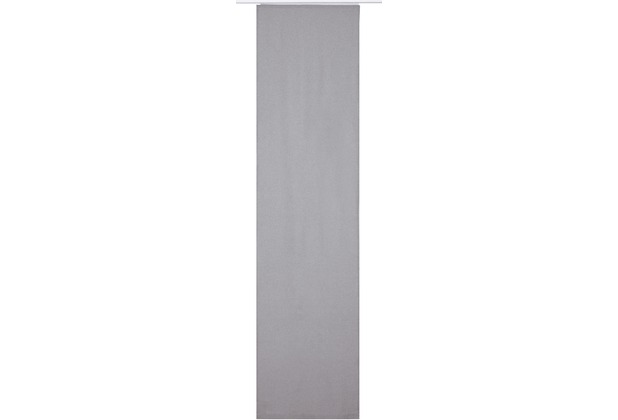 Elbersdrucke Flächenvorhang Lino 07 grau 60 x 245 cm ohne Paneelwagen