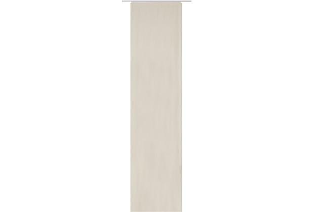 Elbersdrucke Flächenvorhang Lino 09 beige 60 x 245 cm ohne Paneelwagen