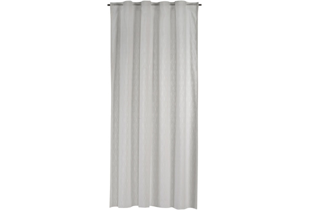 Elbersdrucke Gardine Hometime weiß 140 x 255 cm