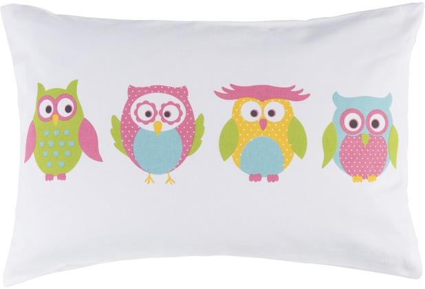 Elbersdrucke Kissen Little Owl bunt