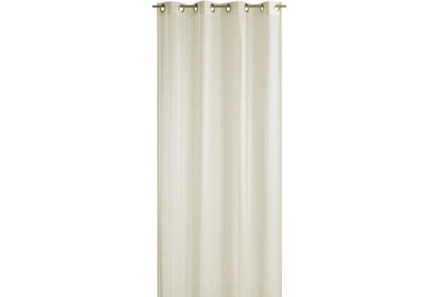 Elbersdrucke Ösenschal Blanca 09 beige 140 x 255 cm