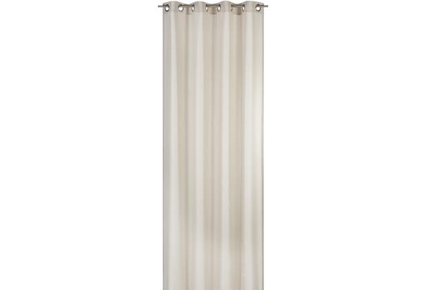 Elbersdrucke Ösenschal Lino 09 beige 140 x 255 cm