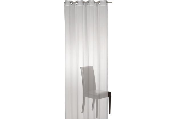 Elbersdrucke Ösenschal Matrix 00 offwhite 140 x 255 cm