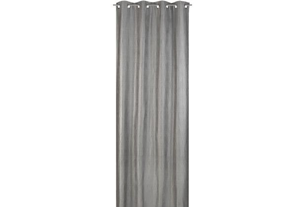 Elbersdrucke Ösenschal Miracle 07 silber 140 x 255 cm