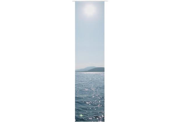Elbersdrucke Schiebevorhang Ocean blau