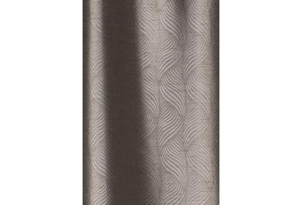 Elbersdrucke Schlaufenbandschal Deep Shade 06 braun 140 x 255 cm