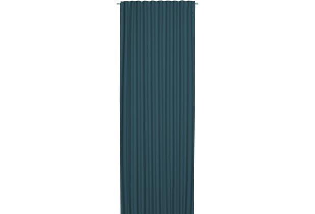 Elbersdrucke Schlaufenbandschal Midnight blau-türkis 140 x 255 cm