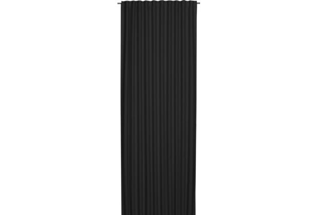 Elbersdrucke Schlaufenbandschal Midnight schwarz 140 x 255 cm