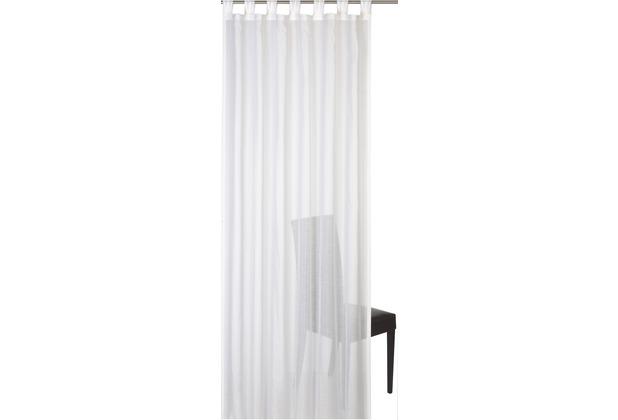 Elbersdrucke Schlaufenschal Batist Uni 00 offwhite 140 x 255 cm