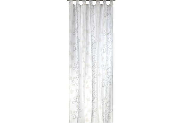 Elbersdrucke Schlaufenschal Beauty 09 offwhite-ecru 140 x 255 cm