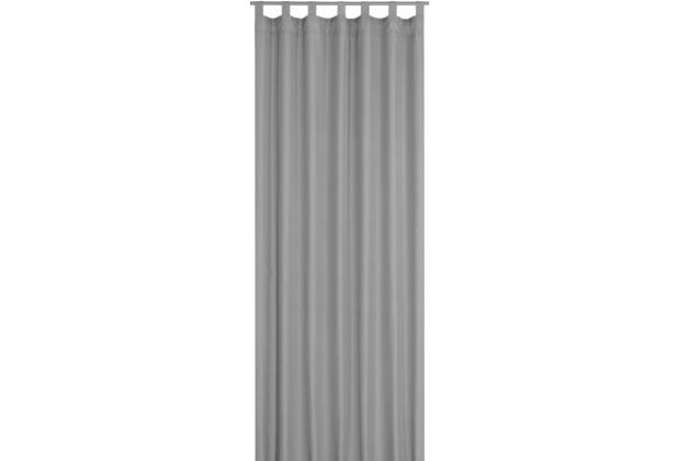 Elbersdrucke Schlaufenschal Canvas 07 grau 140 x 245 cm