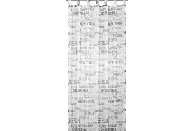 Elbersdrucke Schlaufenschal City 07 schwarz-weiß 140 x 255 cm