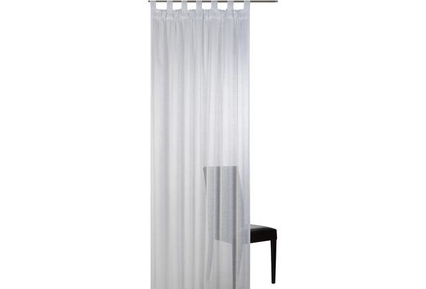 Elbersdrucke Schlaufenschal Effecto 00 weiß 140 x 255 cm