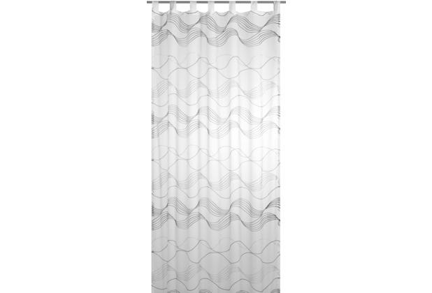 Elbersdrucke Schlaufenschal Glam Voile 00 offwhite 140 x 255 cm