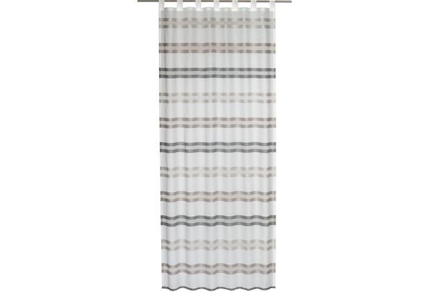 Elbersdrucke Schlaufenschal Kiruna 06 braun 140 x 255 cm