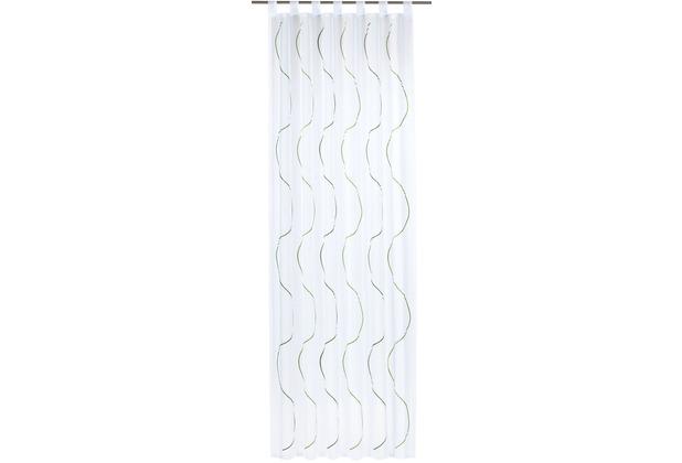 Elbersdrucke Schlaufenschal Serpentine 03 grün 140 x 255 cm