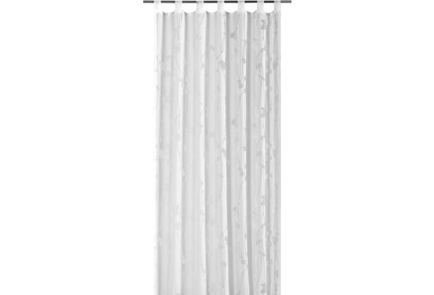 Elbersdrucke Schlaufenschal Valverde 001 weiß 140 x 255 cm