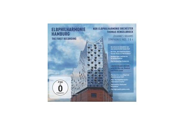 Elbphilharmonie First Recording - Symphonies Nos. 3 & 4 (CD + Blu-ray)