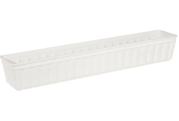 emsa Blumenkasten BALCONE, Weiß, 100 x 17 x 15 cm