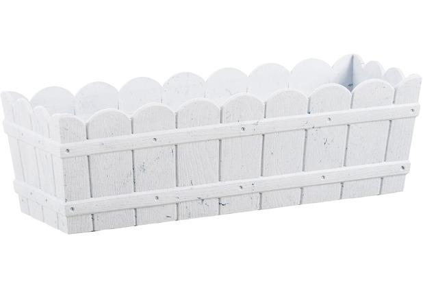 emsa Blumenkasten COUNTRY, Weiß, 50 x 17 x 15 cm