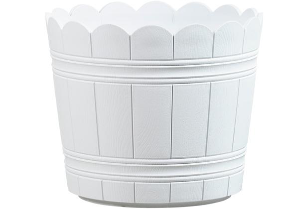 emsa Blumenkübel COUNTRY, Weiß, Ø 35 cm
