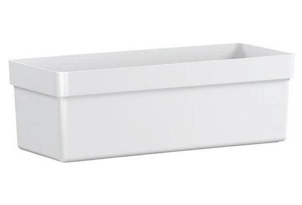 emsa Blumenkasten CITY CLASSIC, Weiß, 48 x 20 x 16 cm