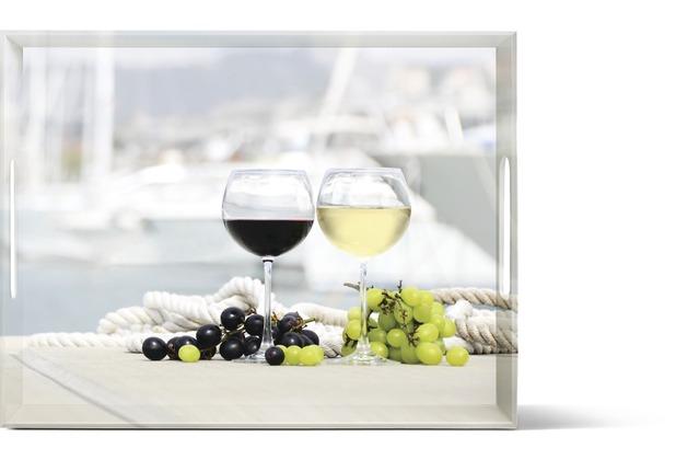 emsa Dekortablett CLASSIC Tablett, Summer Wine, 50 x 37 cm