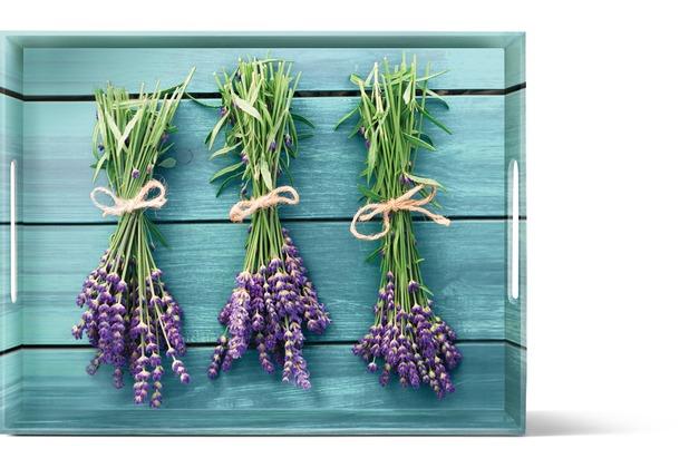 emsa Dekortablett CLASSIC Tablett, Lavender, 40 x 31 cm