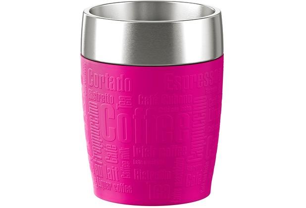 emsa Isolierbecher TRAVEL CUP, Himbeere 0,20 Liter